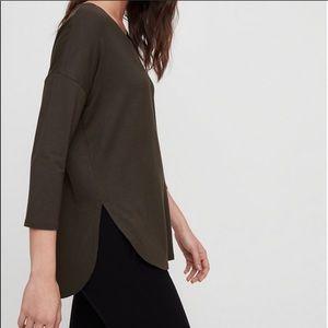 Aritzia Babaton Norris Long Sleeve Shirt Size L